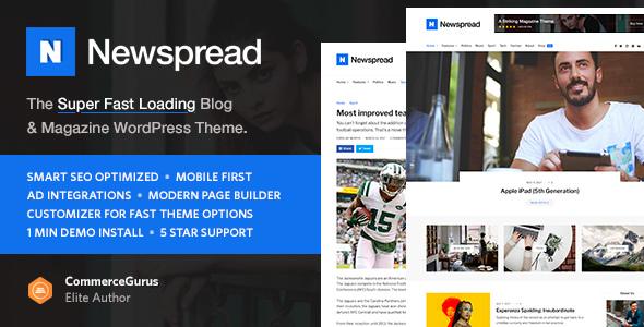 Newspread — Magazine, Blog, Newspaper and Review