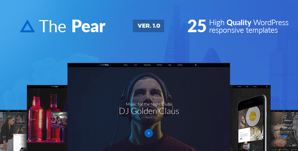 Pear — Responsive Multi-Purpose WordPress Theme