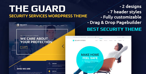 The Guard v1.6.1 – Security Company WordPress Theme