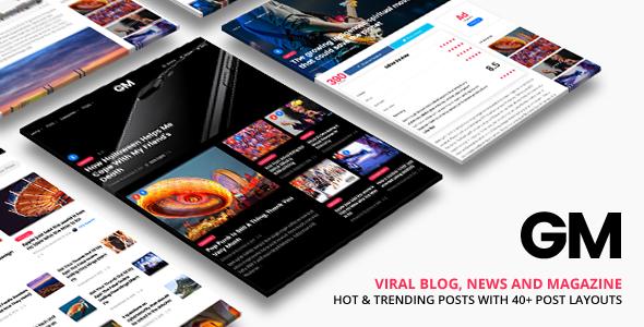 Grand Magazine v1.9 — News Blog WordPress