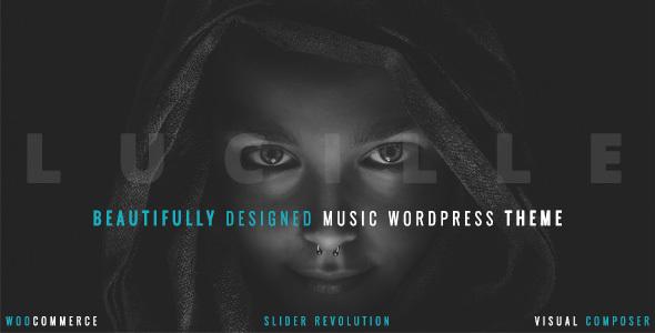 Lucille v2.0 — Music WordPress Theme