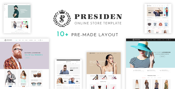 Presiden — Multistore Responsive Opencart Theme