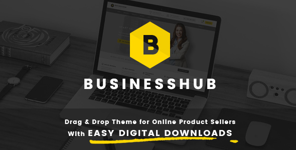 Business Hub v1.1.2 — Responsive Theme For Online Business