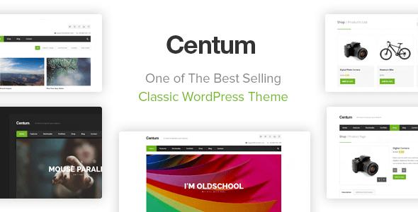 Centum v3.3.3 — Themeforest Responsive WordPress Theme