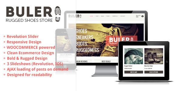 Buler v1.9.1 — A Rugged Ecommerce / WooCommerce Theme