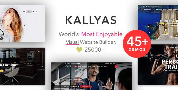 KALLYAS v4.14.0 — Responsive Multi-Purpose WordPress Theme