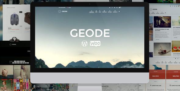 Geode v1.8.2 — Elegant eCommerce Multipurpose Theme