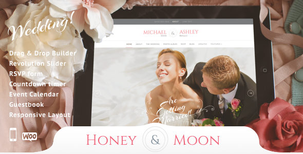 Honeymoon & Wedding v13 — Wedding and Wedding Planner