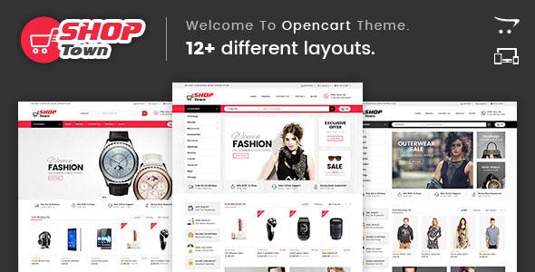 Shop Town — Multipurpose OpenCart Theme