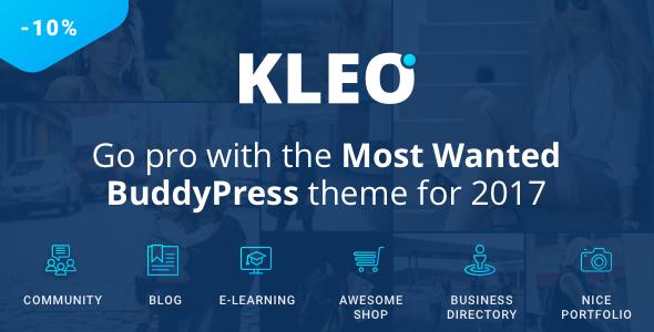 KLEO v4.2.7 – Next level WordPress Theme