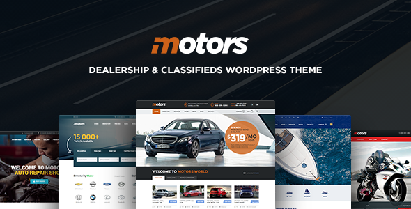 Motors v3.6.3 — Automotive, Cars, Vehicle, Boat Dealership