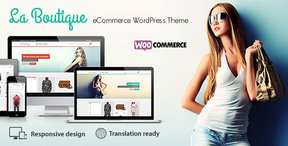 La Boutique v1.9.5 — Multi-purpose WooCommerce Theme