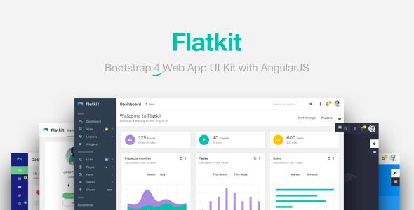Flatkit v1.2.0 — App UI Kit