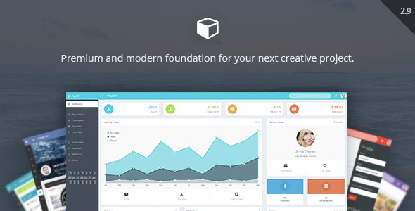 AppUI v2.9 — Web App Bootstrap Admin Template