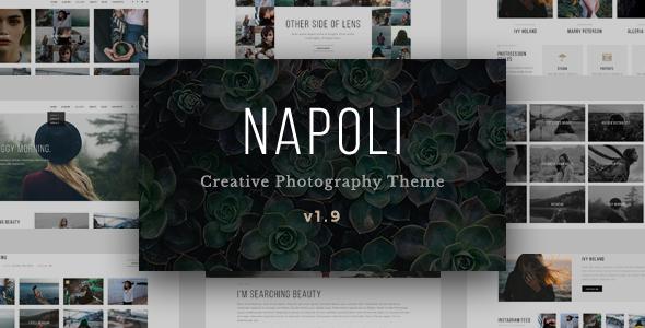 Napoli v1.9.8 — Modern Photography Portfolio Theme