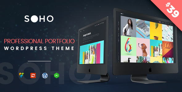 SOHO Pro v1.1 — Creative Portfolio WordPress Theme