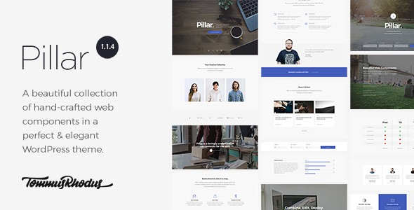 Pillar v1.1.8 — Multipurpose Multi-Concept Responsive Theme