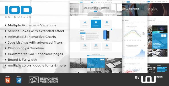 IOD — Corporate HTML Template