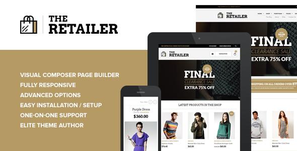 The Retailer v2.7 — Responsive WordPress Theme