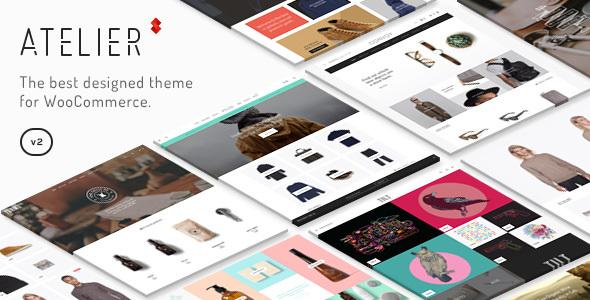 Atelier v2.4.41 — Creative Multi-Purpose eCommerce Theme