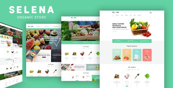 Selena — Organic Responsive Opencart Theme