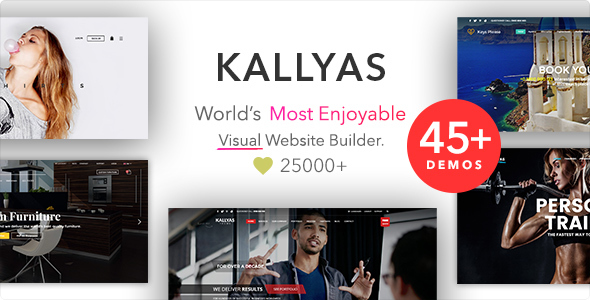 KALLYAS v4.14.1 — Responsive Multi-Purpose WordPress Theme