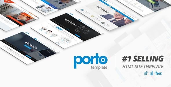 Porto v5.7.2 — Responsive HTML5 Template