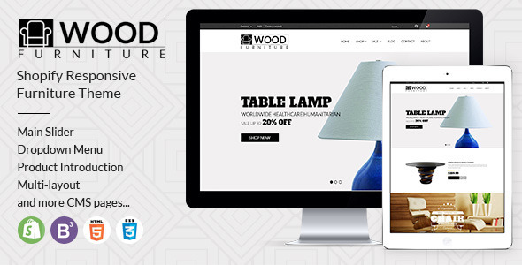 Wood Furniture Decoration v1.2 — Parallax Shopify Theme