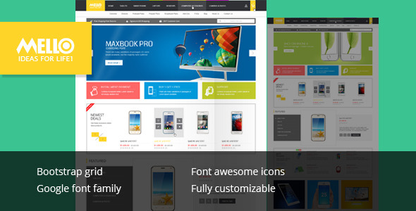 Mello — Ecommerce Responsive Html Template