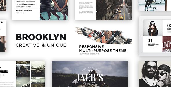 Brooklyn v4.5.2 — Creative Multi-Purpose WordPress Theme