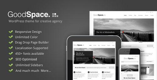 Good Space v1.14 — Responsive Minimal WP Theme