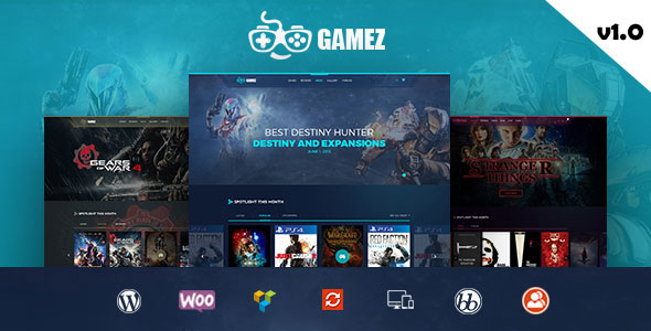Gamez v1.0 — Games, Movie, Music Review and Editorial