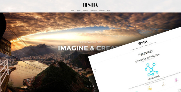 Hestia — Responsive Unique HTML 5 Template