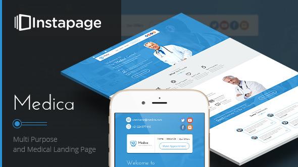 Medica — Instapage Medical Landing Page