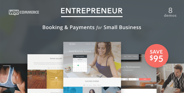 Entrepreneur v1.3.4 — Booking for Small Businesses