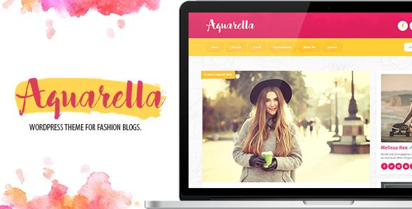 Aquarella v1.1.7.5 — Lifestyle Theme for Digital Influencers