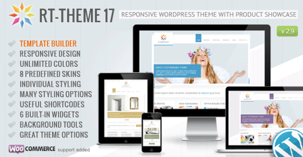 RT-Theme 17 v2.9.8.1 — Responsive WordPress Theme
