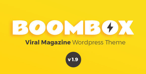 BoomBox v1.9.0.1 — Viral Magazine WordPress Theme
