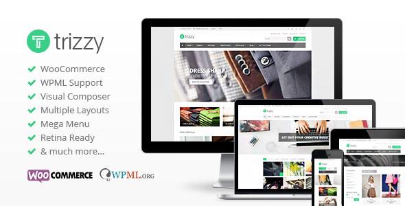 Trizzy v1.7.4 — Multi-Purpose WooCommerce WordPress Theme