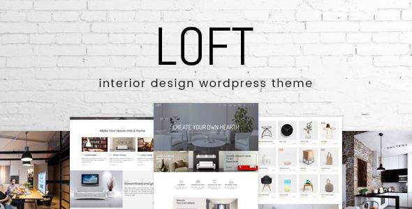 Loft v1.0 — Interior Design WordPress Theme