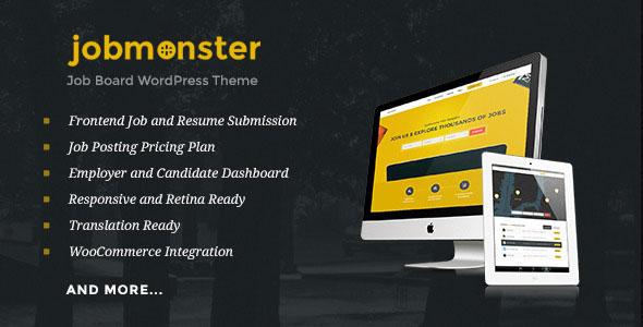 Jobmonster v4.3.2 — Job Board WordPress Theme