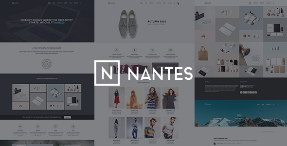 Nantes v1.5.4 — Creative Ecommerce & Corporate Theme