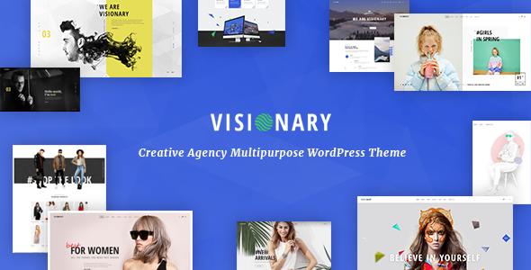 Visionary v1.4.0.1 — Creative Agency Multipurpose WordPress Theme