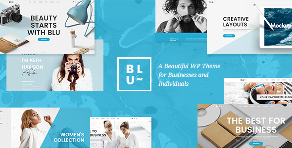Blu v1.3 — A Beautiful Theme for Businesses and Individuals