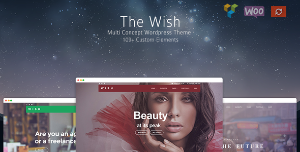 Wish v1.1.0 — Responsive Multi-Purpose WordPress Theme