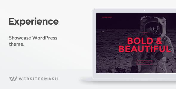 Experience v1.1.6 — Showcase WordPress Theme