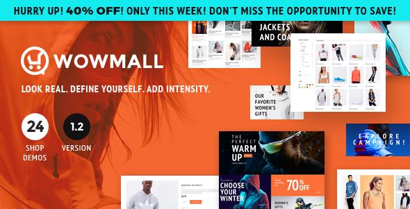 WOWmall v1.3.2 — Fastest Responsive WooCommerce Theme