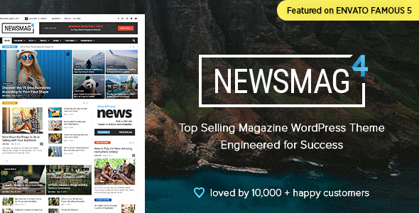 Newsmag v4.0 — News Magazine Newspaper