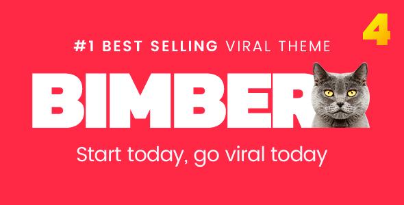 Bimber v4.10.2 — Viral Magazine WordPress Theme