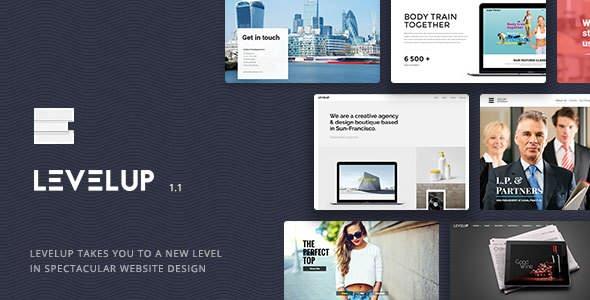 LEVELUP v1.1.14 — Responsive Creative Multipurpose Theme